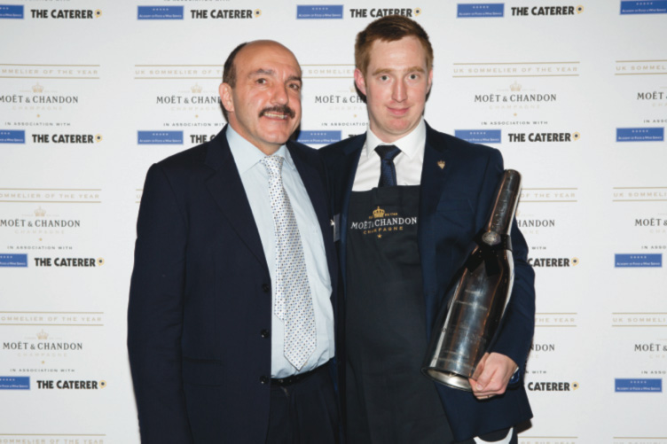 Tanguy Martin - Sommellier of The Year 2015